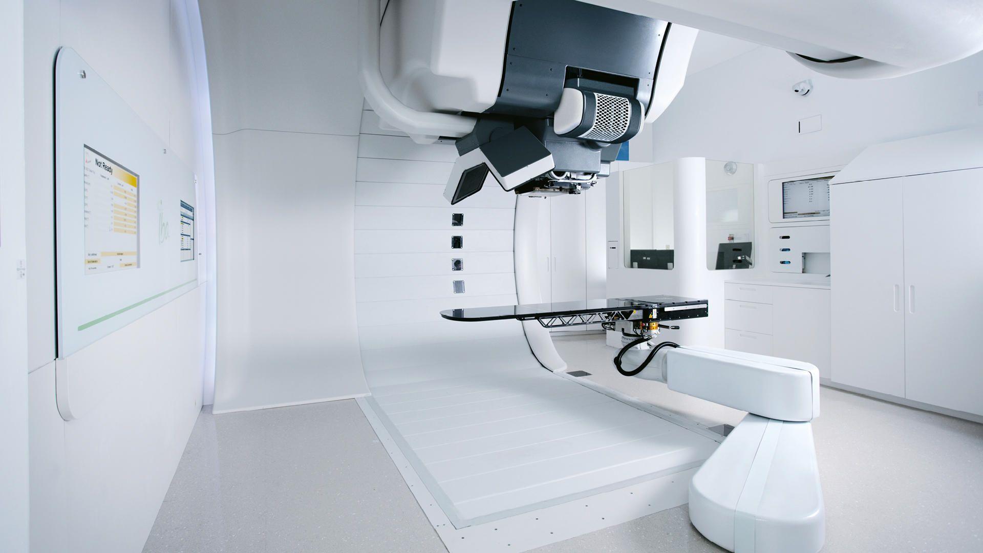 tratamiento de radiación con haz de protones para el cáncer de próstata
